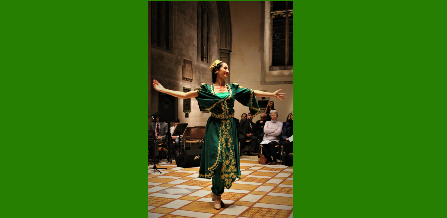 Dance Performance from Tajikistan, Cambridge Navroz 2017