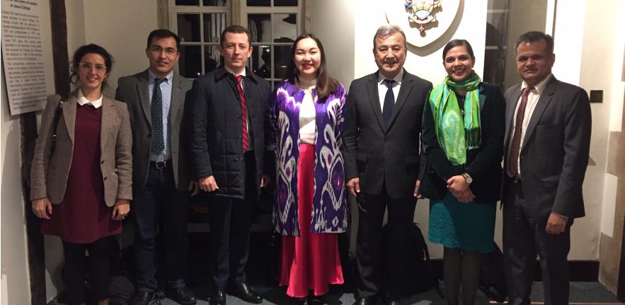 Visit of Senator Safoev and HE Said Rustamov