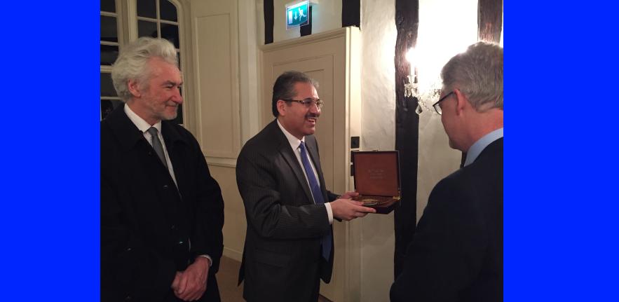 Visit of HE Alisher Kurmanov to University of Cambridge